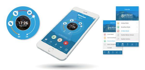 App-controlled-intruder-alarm